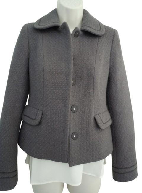 Boden Wool purple gray Jacket Image 0