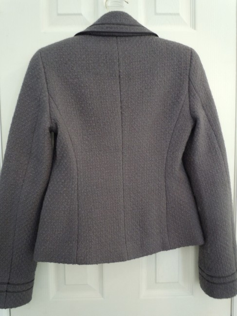 Boden Wool purple gray Jacket Image 3