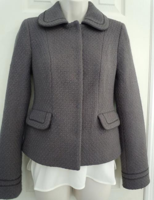 Boden Wool purple gray Jacket Image 4