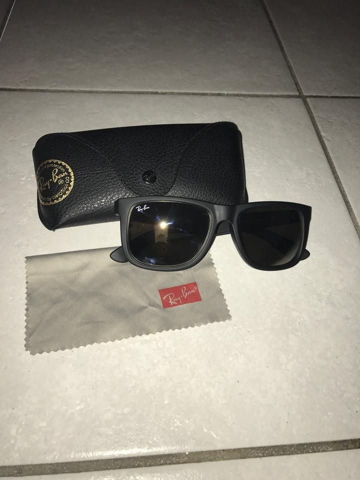 d9bd6da03a Ray-Ban Justin Rb4165 622 5a 54-16 Black with Gold Mirror 622 5a ...