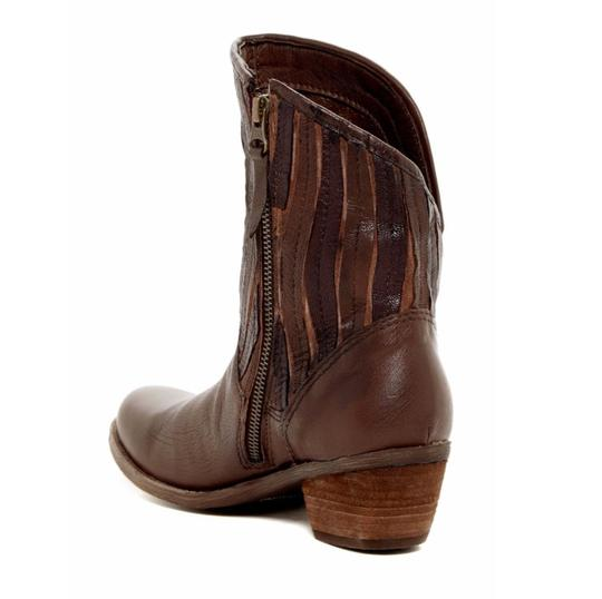Sheridan Mia Cowboy Fringe Leather Casual Brown Boots Image 2