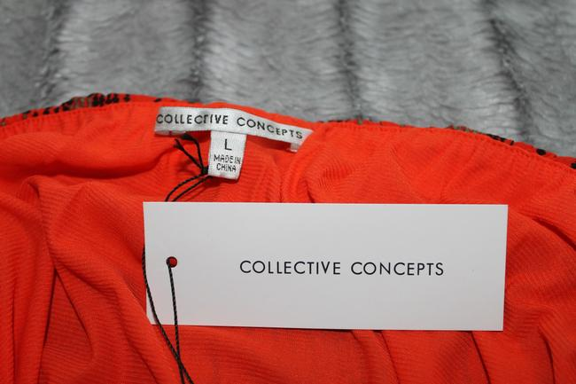 Collective Concepts short dress Red & Black Strapless Elastic Waist Pockets Belted on Tradesy Image 6