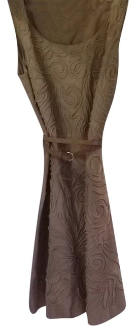 Preload https://img-static.tradesy.com/item/2210966/anne-klein-gold-vintage-holiday-sleeveless-knee-length-night-out-dress-size-16-xl-plus-0x-0-0-650-650.jpg