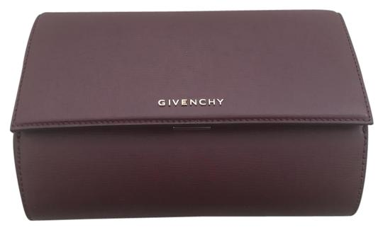 Preload https://img-static.tradesy.com/item/22109666/givenchy-pandora-oxblood-calf-leather-suede-lining-clutch-0-1-540-540.jpg