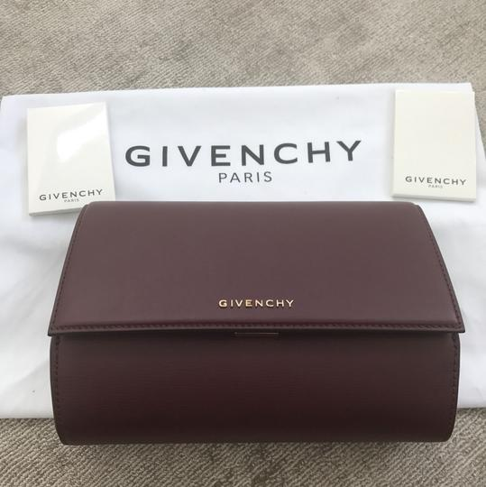 Givenchy OXBLOOD Clutch Image 3
