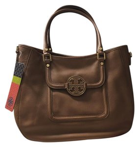 Tory Burch New Robinson Leather Hobo Bag