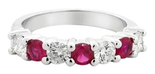 Preload https://img-static.tradesy.com/item/22109847/red-seven-stone-124-ctw-ruby-and-set-in-14k-white-gold-engagement-ring-0-3-540-540.jpg
