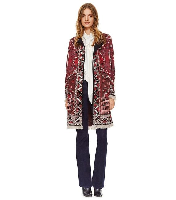 Preload https://img-static.tradesy.com/item/22109891/tory-burch-red-tapestry-moroccan-marrakech-embellished-cash-wool-jacquard-pea-coat-size-0-xs-0-0-650-650.jpg