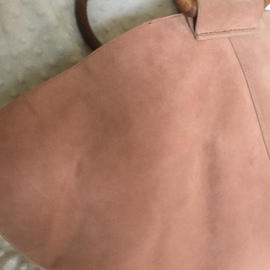 The Row Satchel in pink Image 5