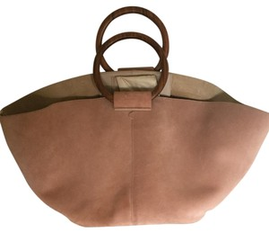 The Row Satchel in pink