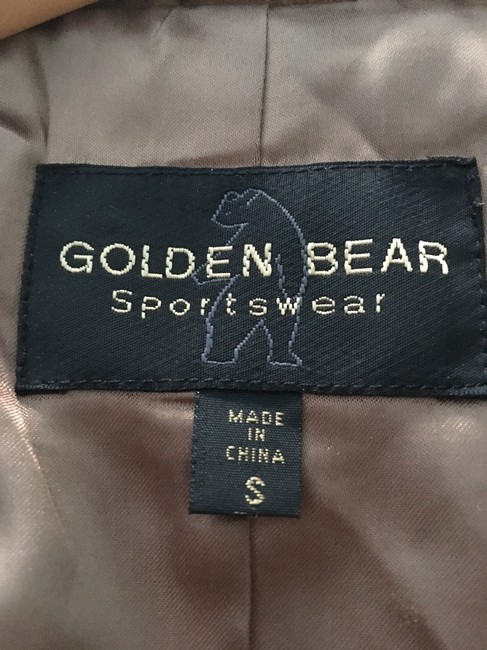 Golden Bear Butter Soft Buttery Soft Leather Cinnamon Suede Nutmeg Walnut Brown Blazer Image 2