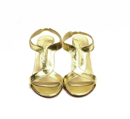 Butter Gold Sandals Image 6