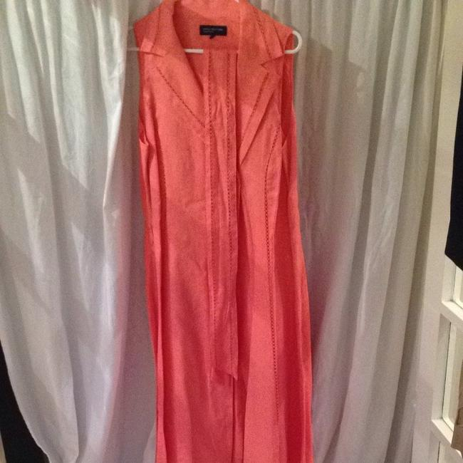 Jones New York short dress Cantalope Summer Spring Color on Tradesy