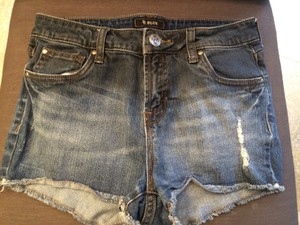 STS Blue Cut Off Shorts dark denim