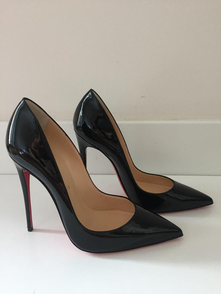 christian louboutin brand new so kate 120mm patent. Black Bedroom Furniture Sets. Home Design Ideas