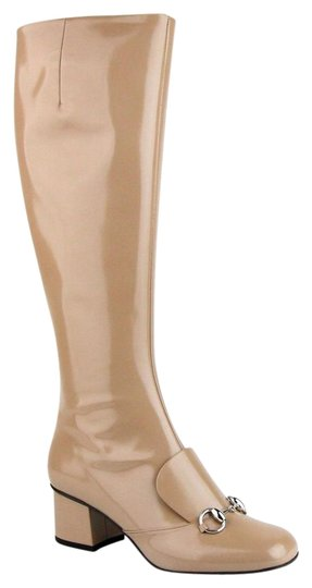 Preload https://img-static.tradesy.com/item/22110617/gucci-camel-horsebit-patent-leather-knee-silver-7-362949-2612-bootsbooties-size-eu-37-approx-us-7-re-0-1-540-540.jpg