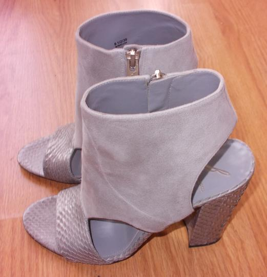 Brian Atwood Gray Sandals Image 2
