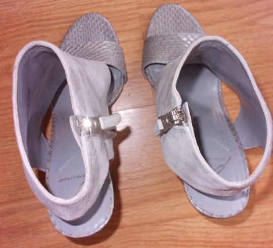 Brian Atwood Gray Sandals Image 3