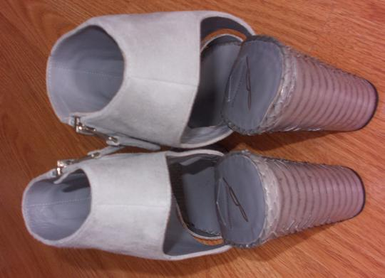 Brian Atwood Gray Sandals Image 4