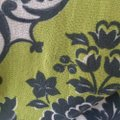 Weston Wear Paisley Classic Nylon Fall Top Multi- Lime Green, black and white Image 3