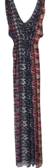 Item - Multicolor Fun Times Long Casual Maxi Dress Size 4 (S)