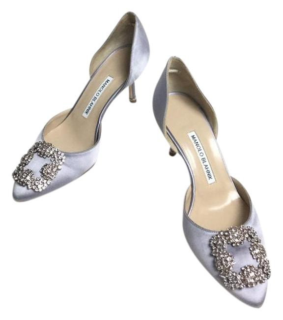 Item - Lavender Hangisi Embellished Pumps Size EU 37 (Approx. US 7) Regular (M, B)