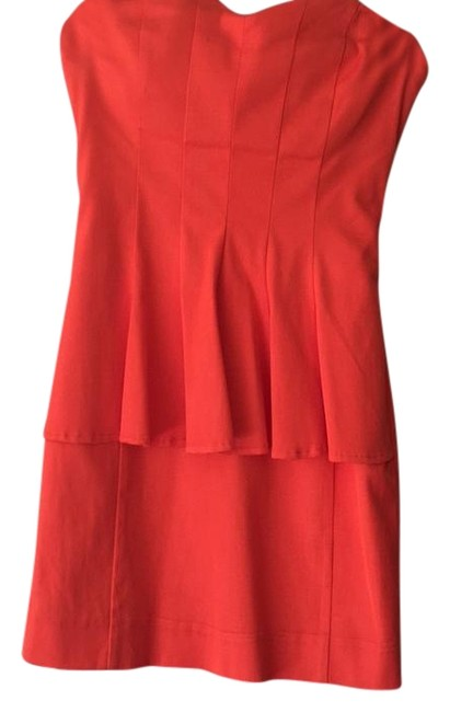 Item - Orange Hottie Short Night Out Dress Size 0 (XS)