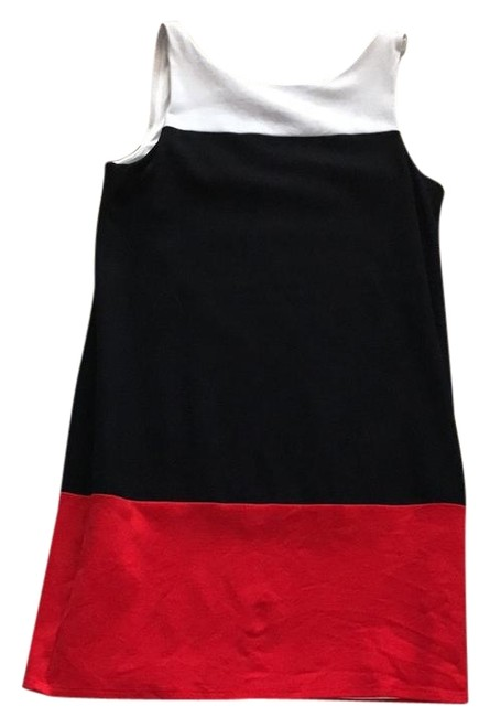 Preload https://img-static.tradesy.com/item/22111348/bailey-44-white-black-red-shift-in-cotton-mid-length-short-casual-dress-size-8-m-0-1-650-650.jpg