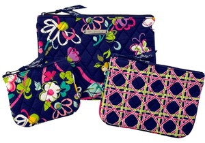 VERA BRADLEY NEW WITH TAGS VERA BRADLEY COSMETIC BAGS TRIO IN RIBBONS