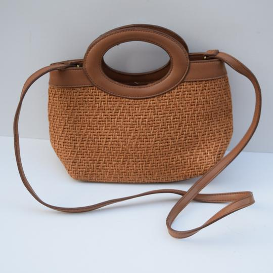 Fossil Satchel in tan Image 1
