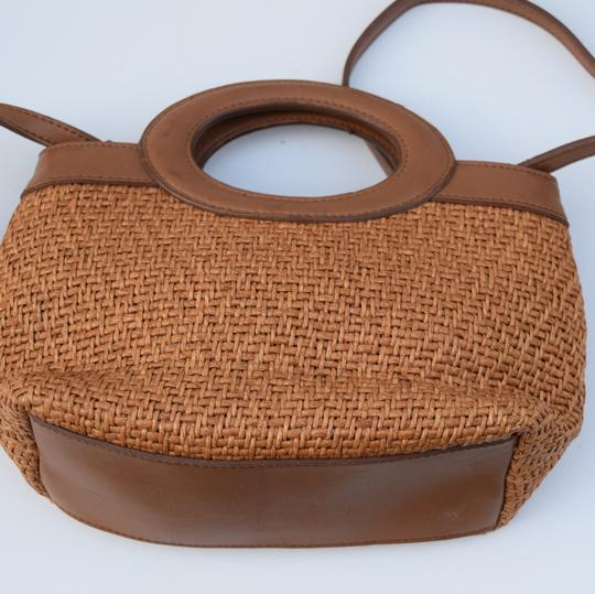 Fossil Satchel in tan Image 2