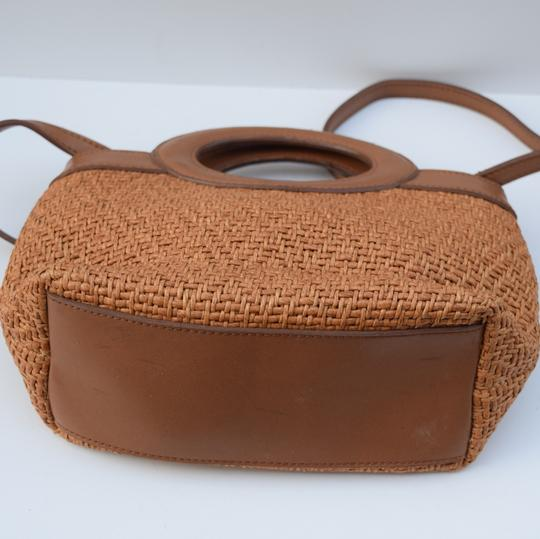 Fossil Satchel in tan Image 4
