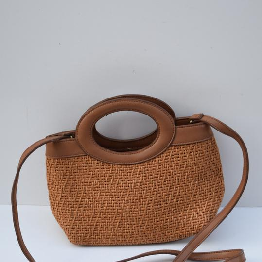 Fossil Satchel in tan Image 6