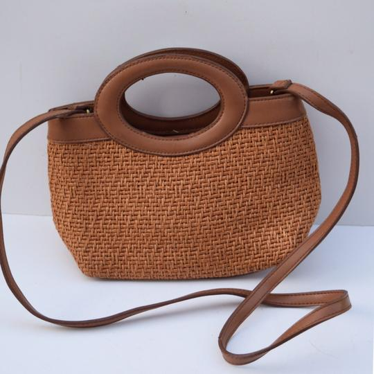 Fossil Satchel in tan Image 7
