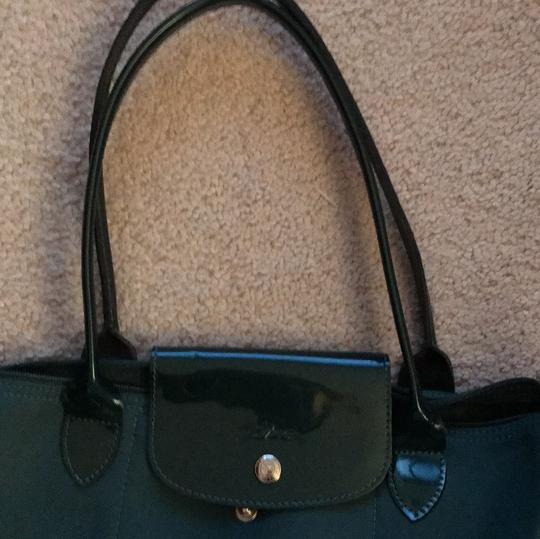 Longchamp Tote in Teal Image 1