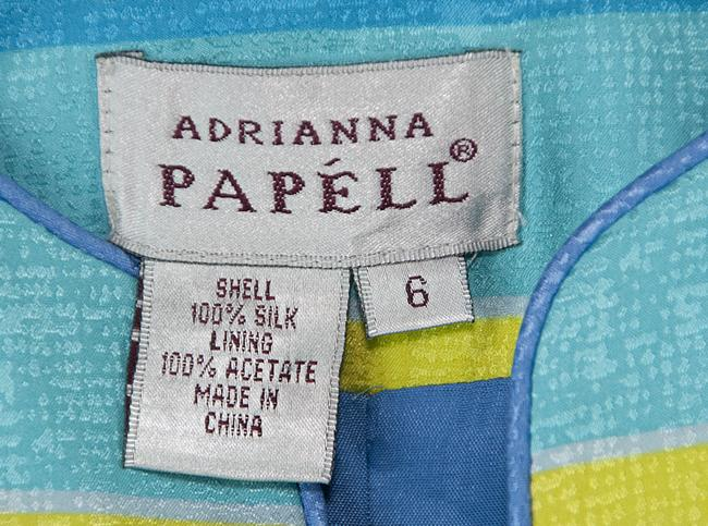 Adrianna Papell Multicolor Blazer Image 2
