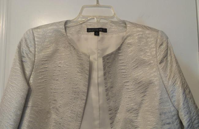 Lafayette 148 New York Light Silver Jacket Image 2