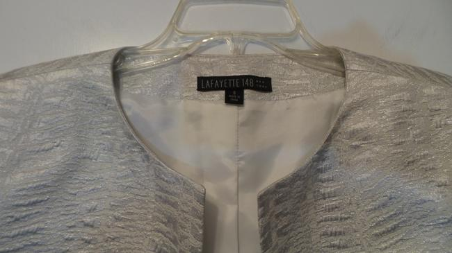 Lafayette 148 New York Light Silver Jacket Image 3