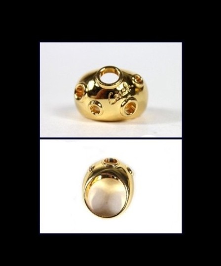 Coach NWT Coach Gold Bridget Cushion Ring