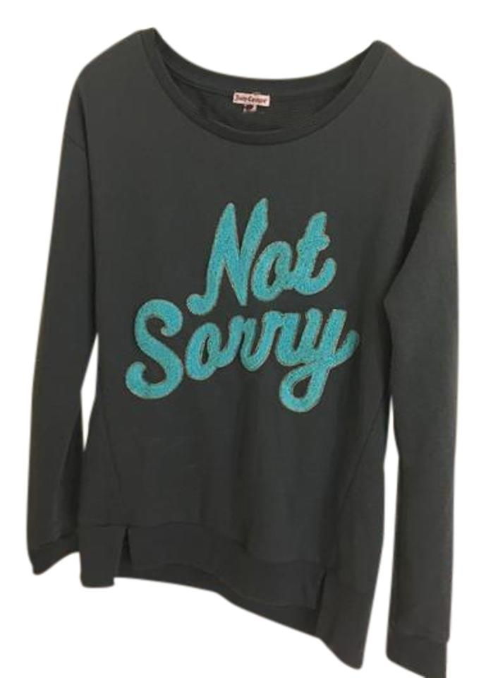 707e8518 Juicy Couture Gray - Not Sorry Sweatshirt/Hoodie Size 6 (S) - Tradesy