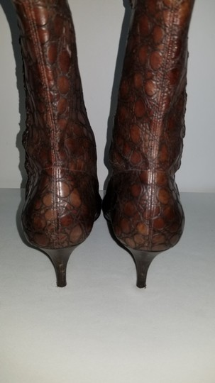Gianni Bini Pull On Size 8 Narrow Brown Boots Image 10