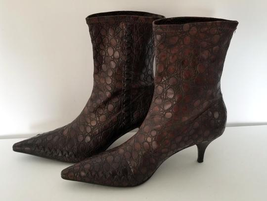 Gianni Bini Pull On Size 8 Narrow Brown Boots Image 3