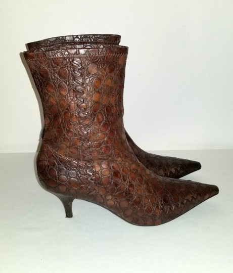 Gianni Bini Pull On Size 8 Narrow Brown Boots Image 9