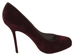Sergio Rossi deep plum/burgundy (as picture) Pumps