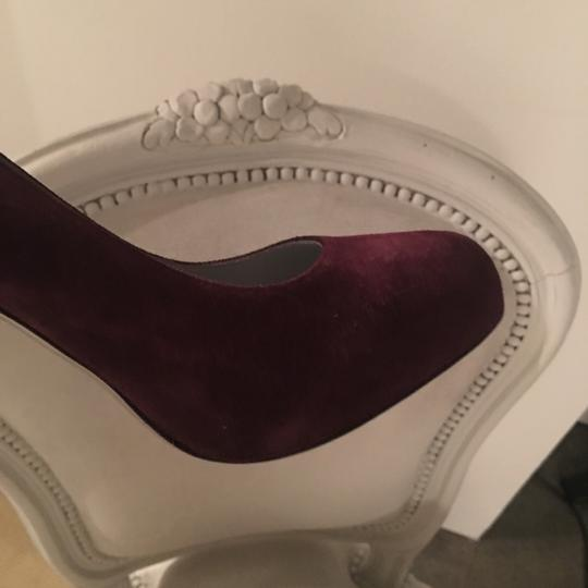 Sergio Rossi deep plum/burgundy (as picture) Pumps Image 5