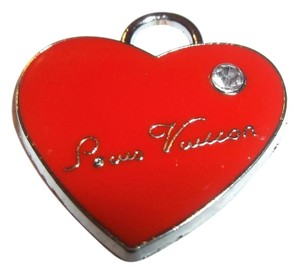 LOUIS VUITTON LOUIS VUITTON SALE VINTAGE RED HEART CHARM