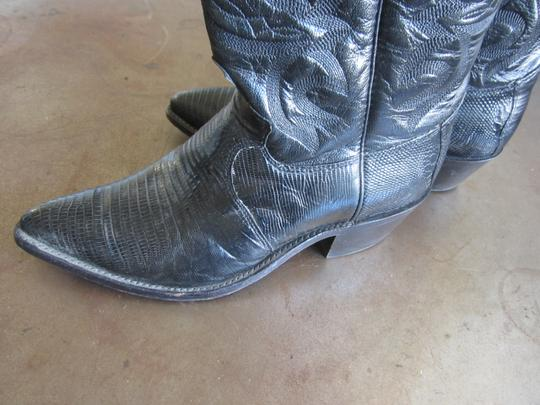 Justin Boots Black Boots Image 3