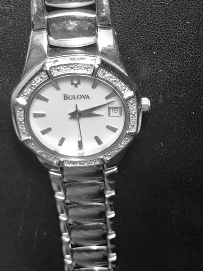 Bulova Bulova Women's 96R102 Diamond Accented Automatic Watch Image 1