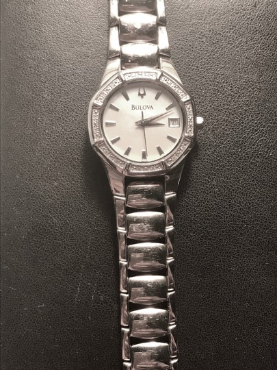 Bulova Bulova Women's 96R102 Diamond Accented Automatic Watch Image 3