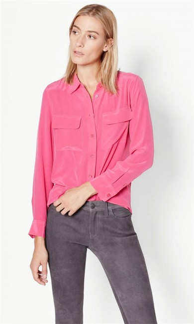Equipment Button Down Shirt Cosmopolitan Image 2